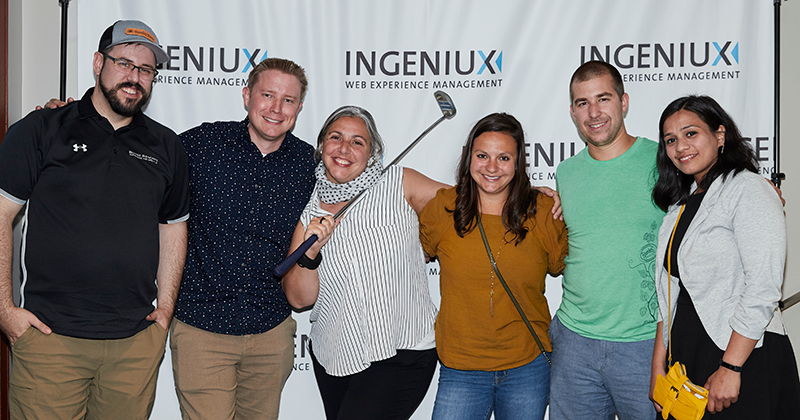 Ingeniux User Conference Networking Party