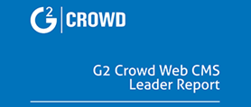 G2 Crowd Web CMS Leader Report