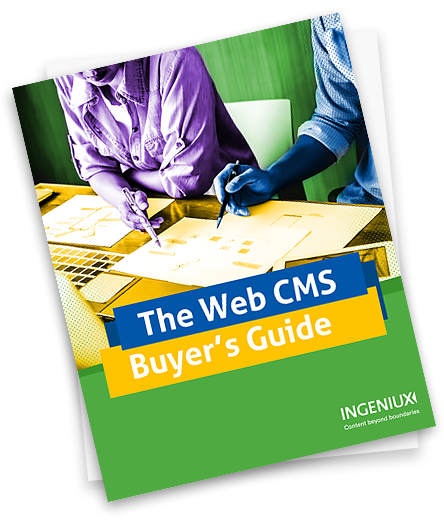 Web CMS Buyers Guide eBook