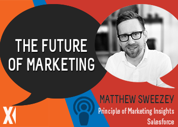 Content Matters Podcast: The Future of Marketing with Mathew Sweezey